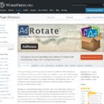 プラグインAdRotateを使ってteratail広告を設置してみる