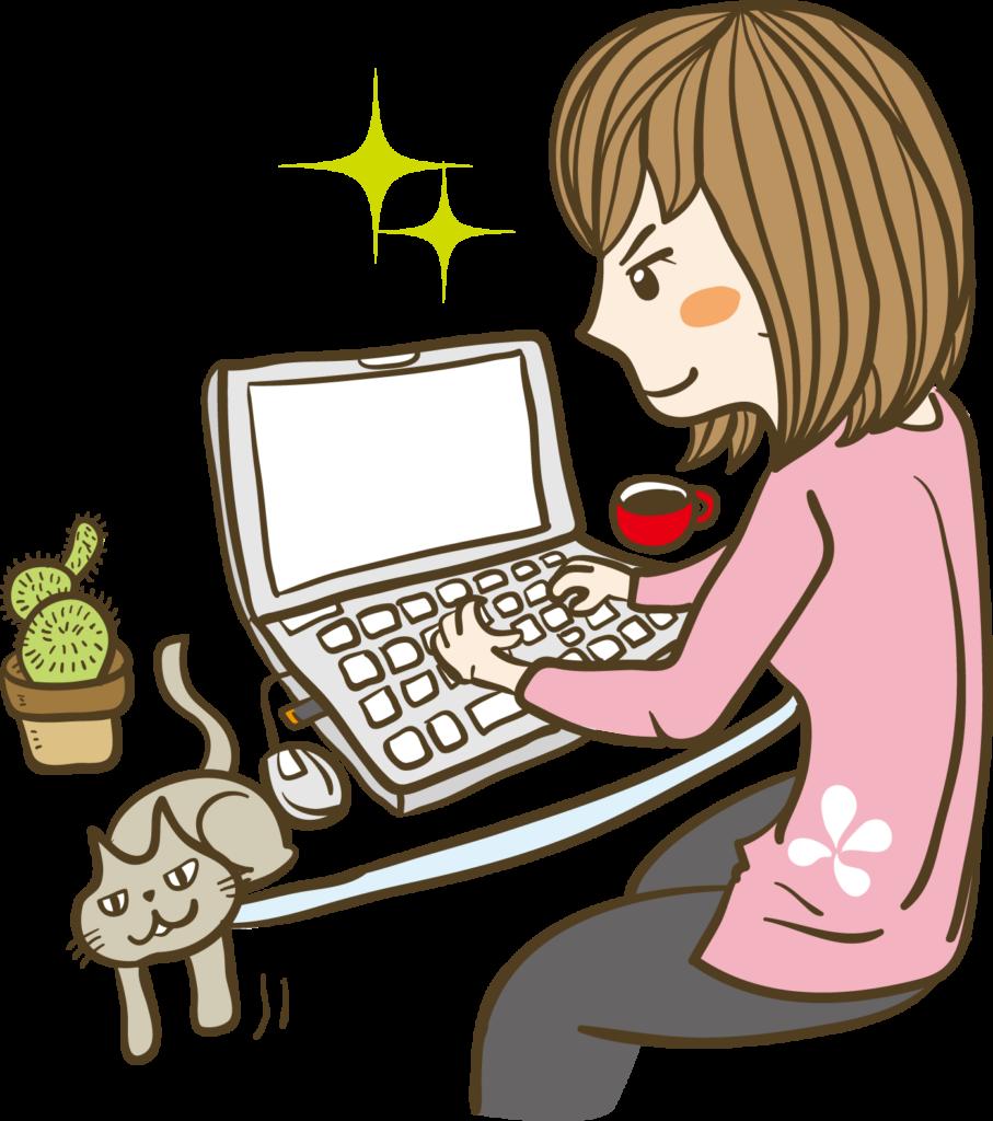 pc-girls-typing