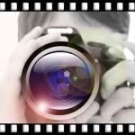 女性カメラ