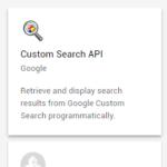 Google Custom Search APIを使ってGoogle検索をやってみる(GAS)